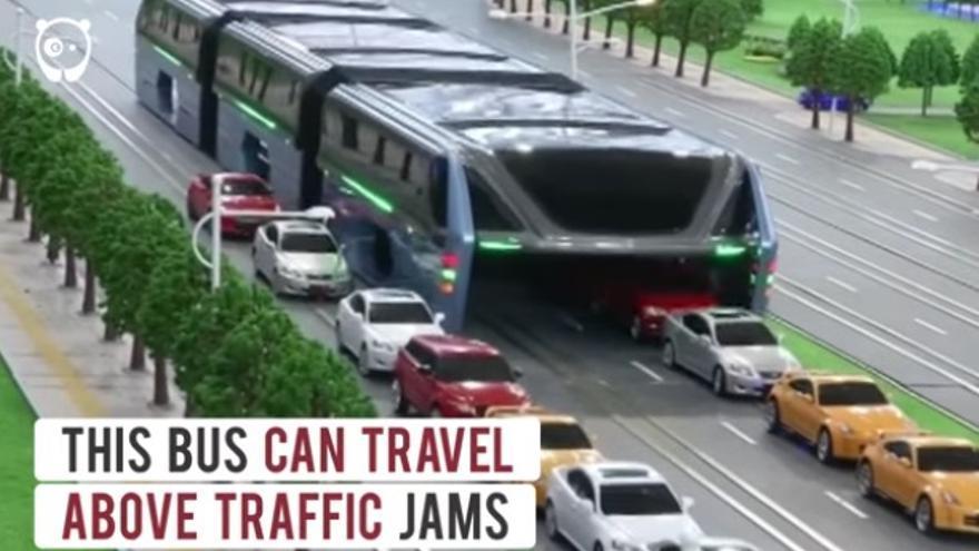 Autobús elevado china