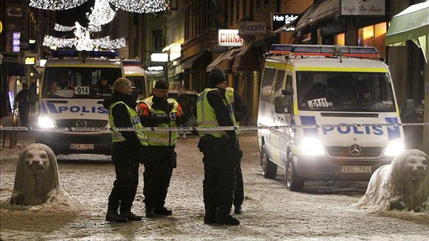Estalla un artefacto explosivo en el centro de Estocolmo, sin daños personales