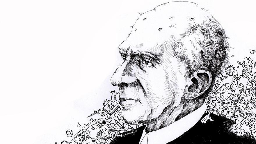 Ilustración del artista Luis Quintanilla.   Dani Fernández.