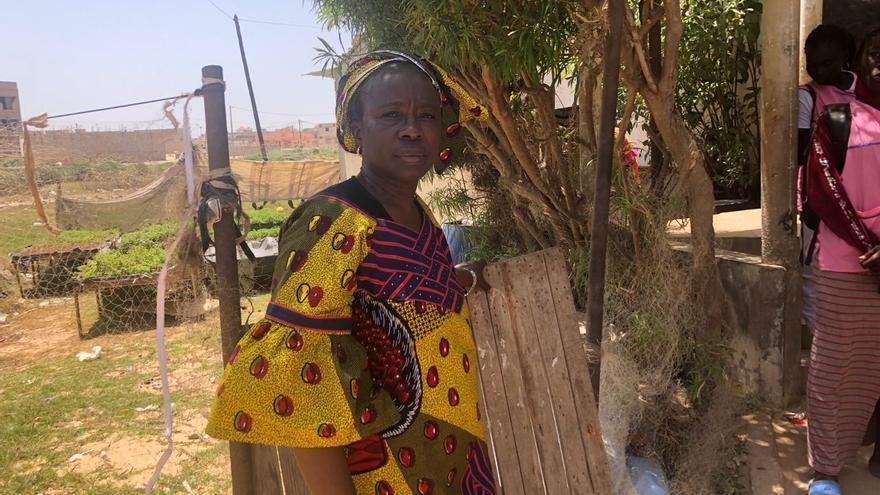 Yaye Bayam Diouf , presidenta de Koflec.