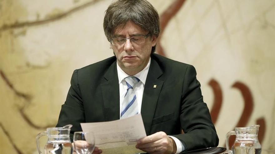 """Puigdemont pedirá verse con Rajoy si es elegido para """"tirarle de las orejas"""""""