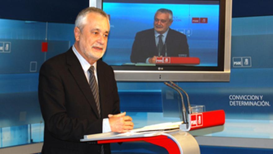 PSOE De Andalucía: Fotos Rueda Griñán En Ferraz 22 1 11