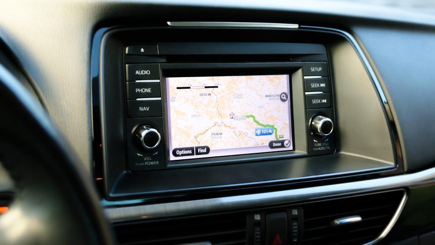 La tecnología basada en el GPS busca el camino más rapido entre el punto A y el punto B
