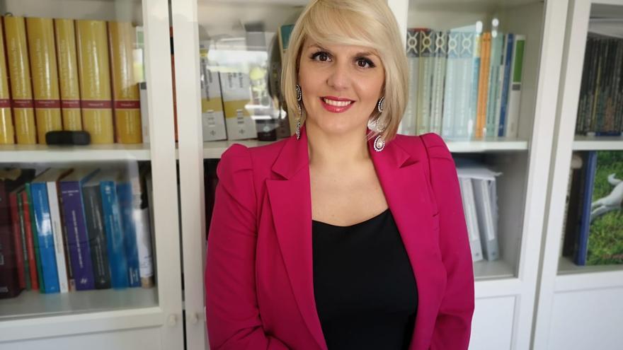Elena Manzano, profesora de Derecho Financiero y Tributario de la Facultad de Derecho de la Universidad de Extremadura