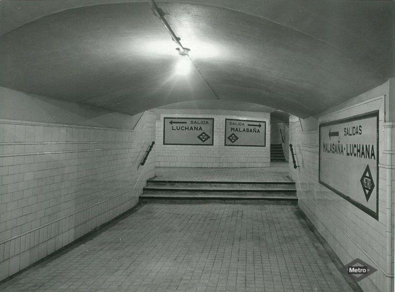 Estación de Bilbao (1960) | http://especiales1.memoriademadrid.es/metrodemadrid