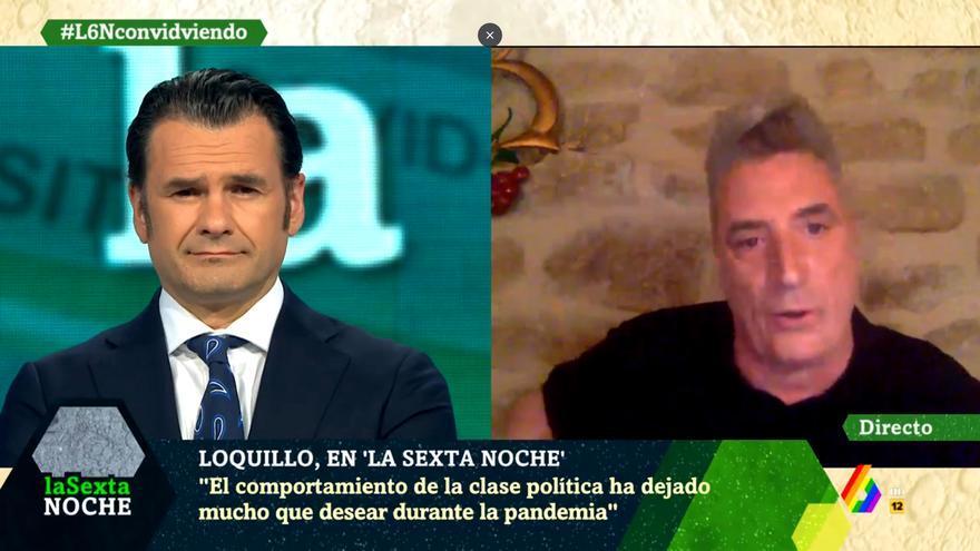 Loquillo, entrevistado en 'laSexta Noche'