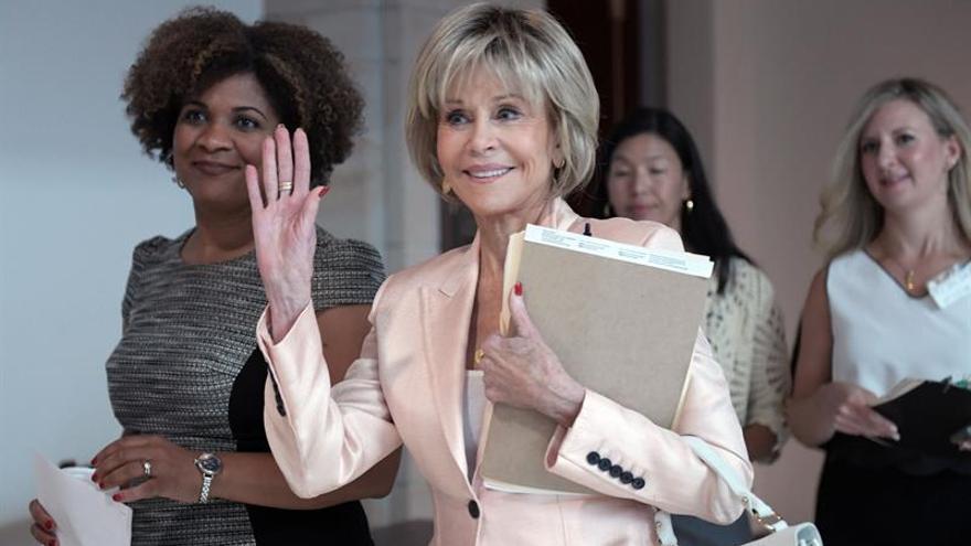 Jane Fonda convierte el Premio Lumiére en un alegato feminista y contra Trump