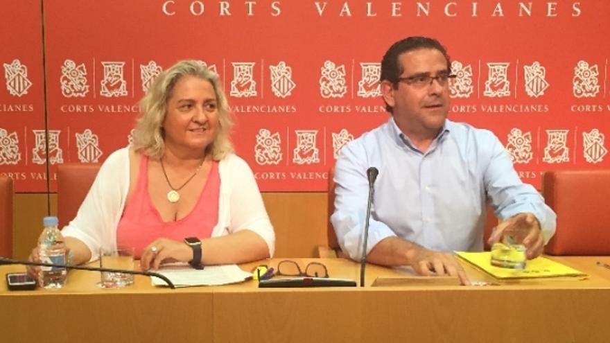 María José San-Segundo y Jorge Bellver