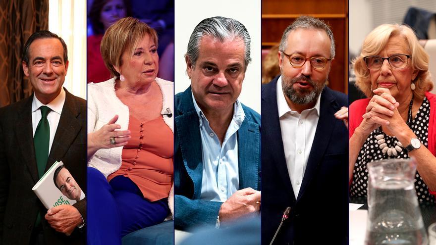 Bono, Villalobos, De Quinto, Girauta y Carmena