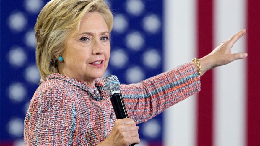 """Clinton: """"A dos meses de las elecciones, no quería estar en casa"""""""