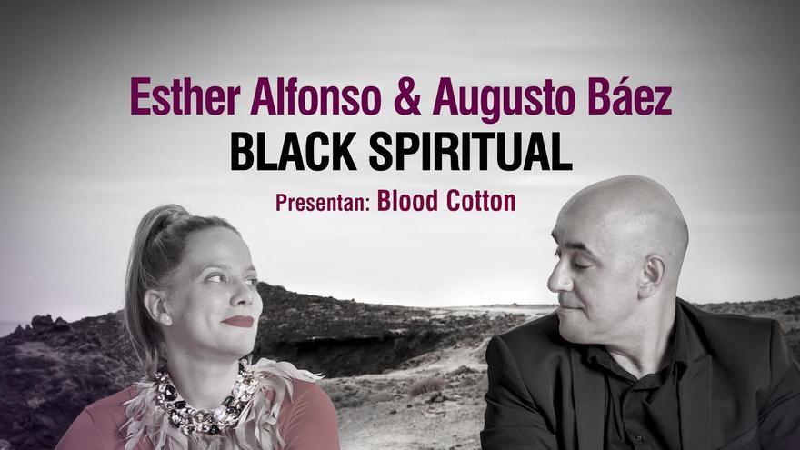 Cartel de la actuación de 'Blood Cotton' en El Paso.