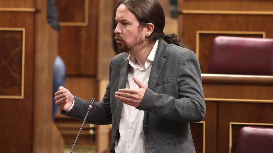 """Iglesias aboga por no """"bajar los brazos"""" y se dirige a Sánchez: """"Aún tenemos tiempo, pongámonos de acuerdo"""""""