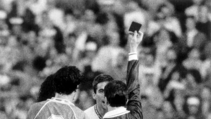 Imagen del CD Tenerife-Sevilla CF del 3 de enero de 1993.