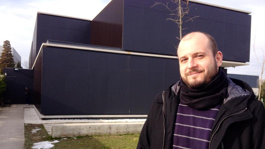 El trabajador social e integrante de la fundación Xilema Rubén Unanua.