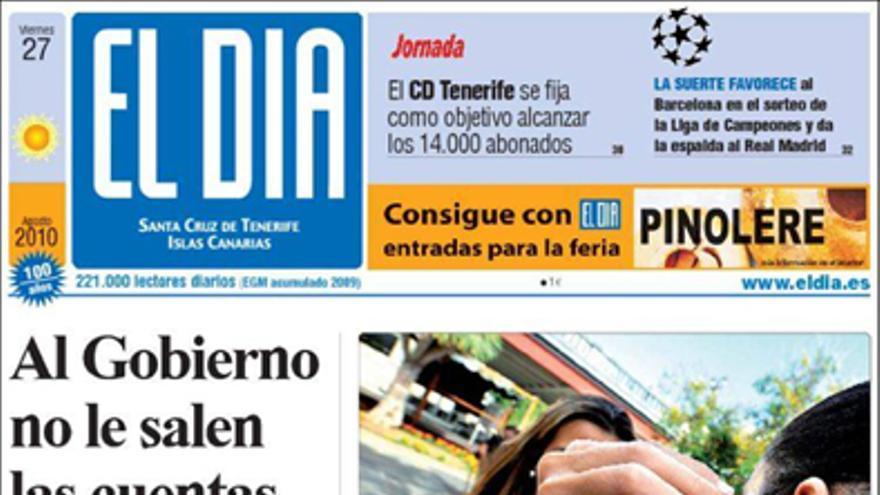 De las portadas del día (27/10/2010) #4