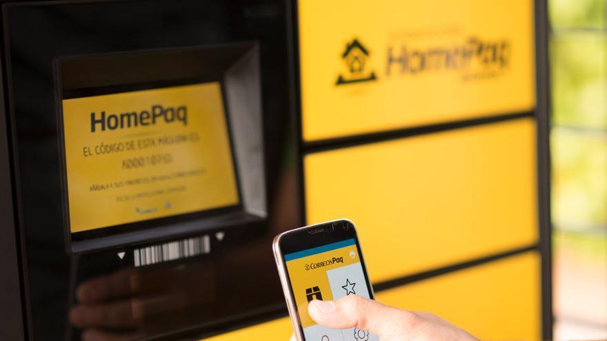 Correos ha distribuido por España dos dispositivos para enviar y recibir paquetes, con disponibilidad las 24 horas al día.