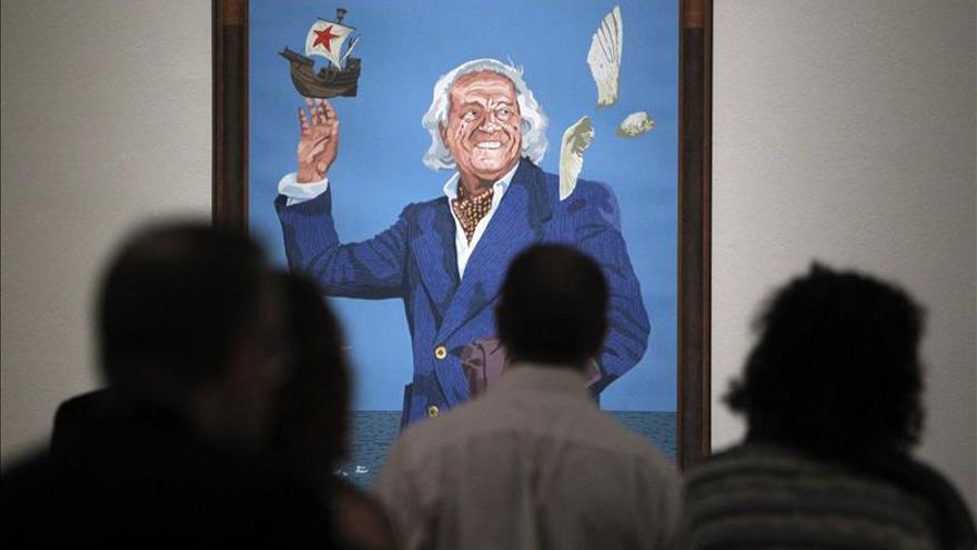 La Biblioteca Nacional expone juntos los retratos de los 39 Premios Cervantes