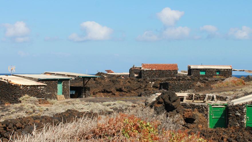 Las Maretas están ocupadas por corrales y construcciones recientes. Foto: FERNANDO RODRÍGUEZ.
