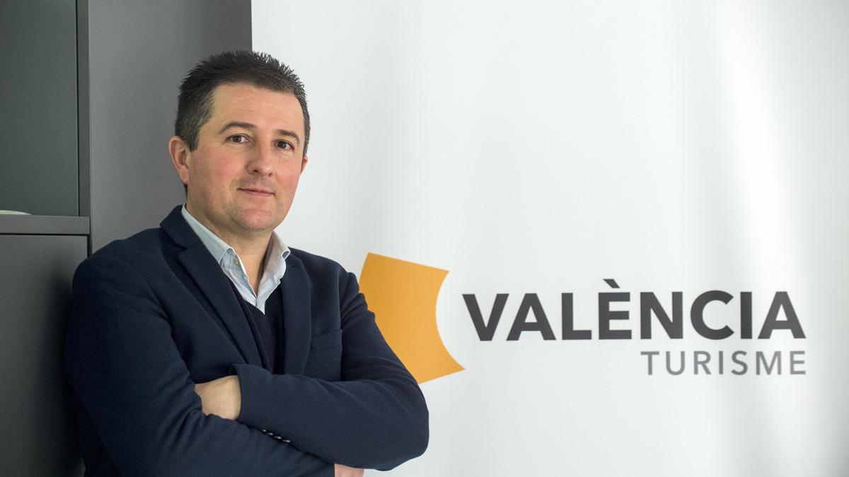 Xavi Pascual, nou director del Patronat de Turisme de València.
