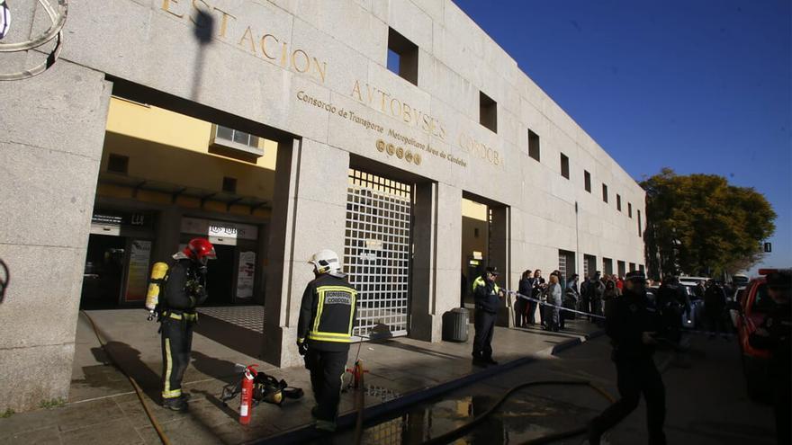 Imagen de archivo de un incendio en la estación de autobuses | MADERO CUBERO