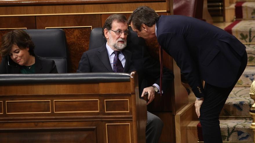 """Rajoy coincide en el respeto a la Justicia con Charles Michel, al que llama su """"único interlocutor"""" en Bélgica"""