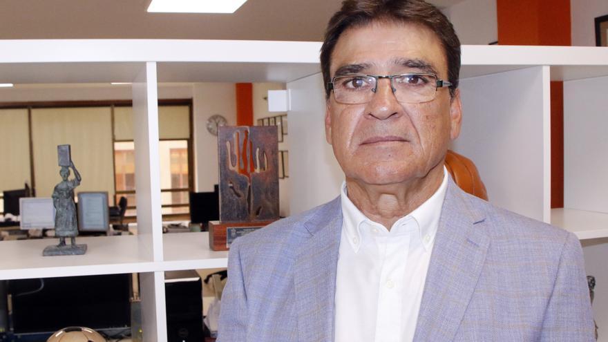 Julio Durán, ex futbolista del CD Tenerife