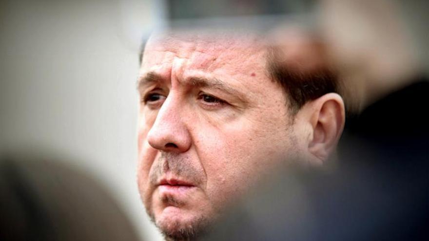 El exconcejal del PP en Majadahonda José Luis Peñas, conocido como el delator de la Gürtel, en la Audiencia Nacional en San Fernado de Henares.