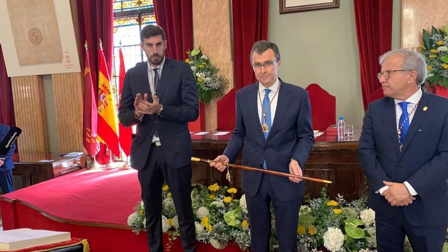 José Ballesta (PP) se hace de nuevo con el bastón de mando en la alcaldía de Murcia