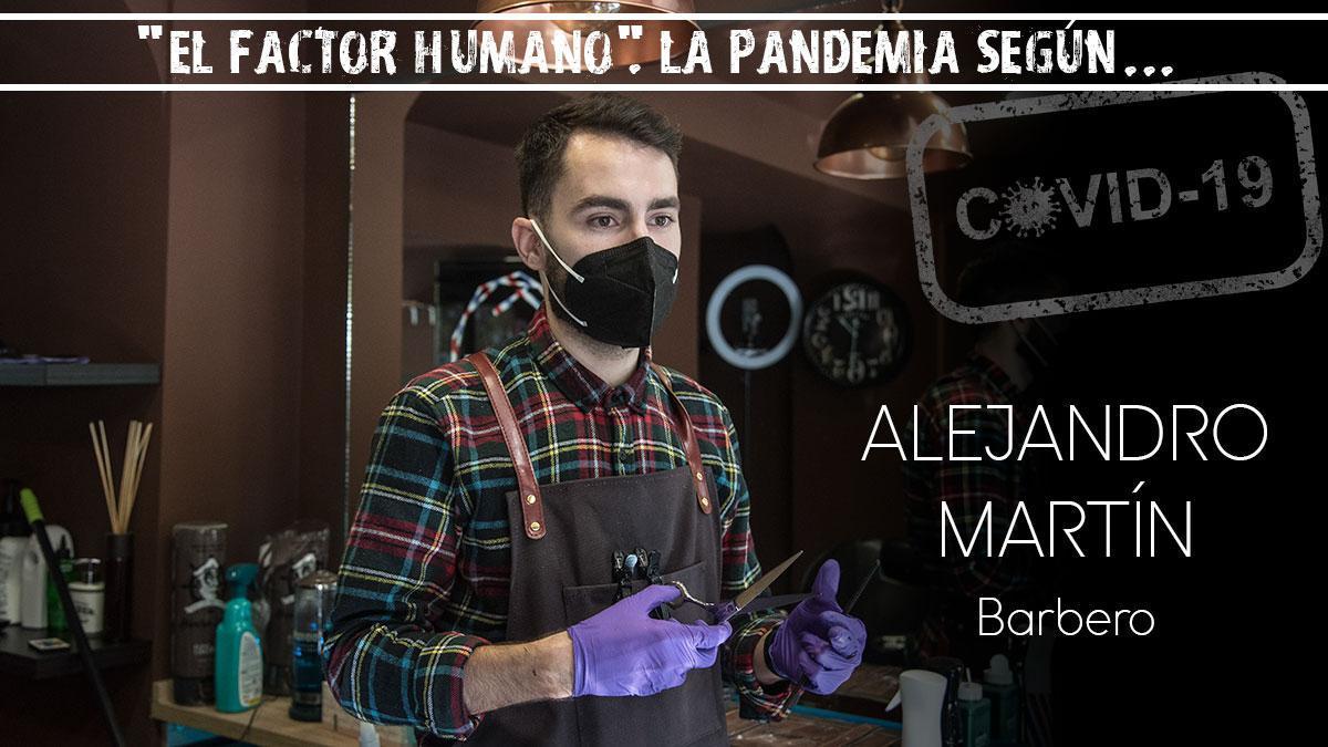Alejandro Martín, barbero