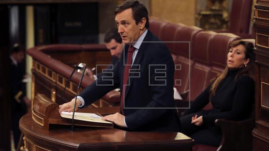 """El PP acusa a la oposición de """"hacer demagogia·, pedir parches y engañar con pensiones"""
