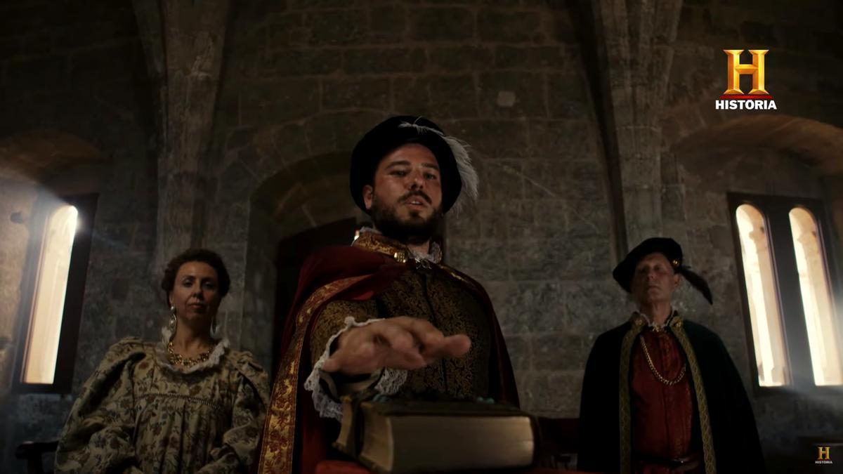 Escena de 'Piratas en Baleares'