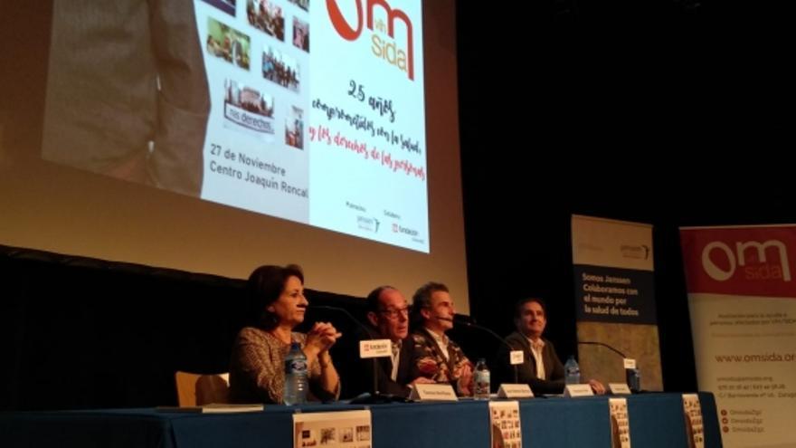 La Fundación OmSida Aragón cumple veinticinco años de lucha contra la infección por VIH