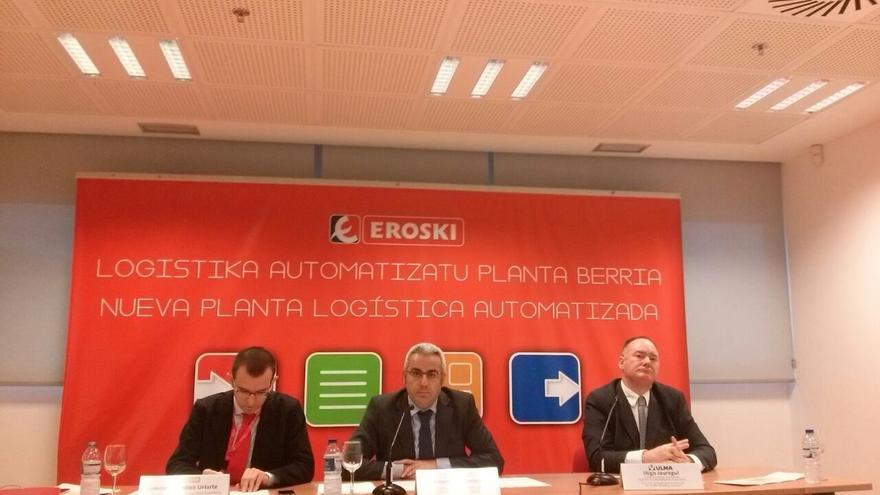 Eroski invierte 40 millones en la automatización de su Plataforma Logística Zona Norte