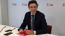 El secretario general del PSOE de Santander, Pedro Casares. | EP