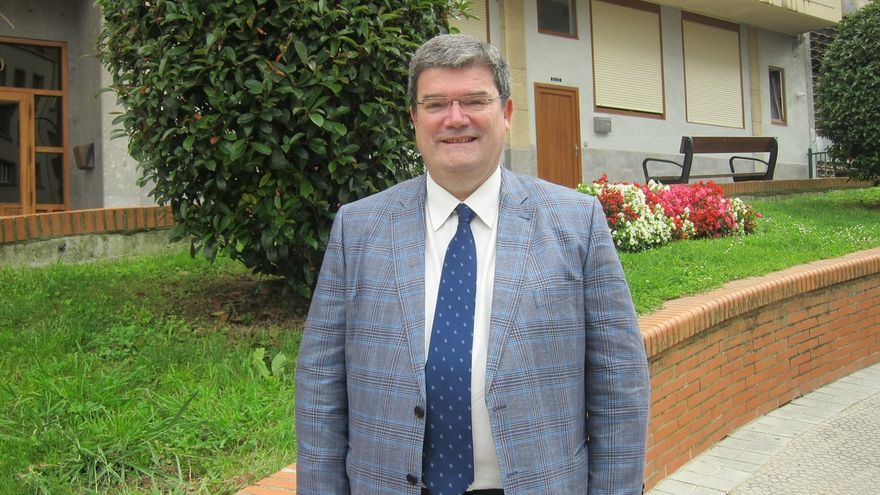 El alcalde de Bilbao, Juan Mari Aburto.