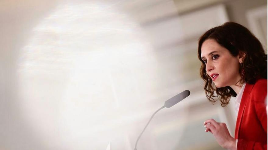 La candidata del PP a la Comunidad de Madrid, Isabel Díaz Ayuso. / PP de Madrid