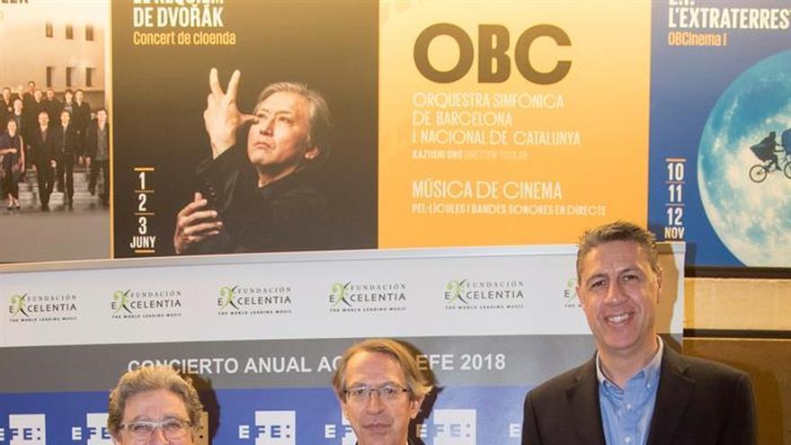 """El mundo político, económico y cultural se cita en el """"Concierto Anual Agencia EFE"""""""