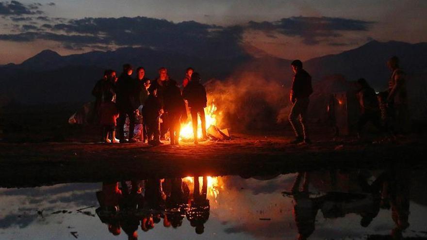 Los refugiados siguen llegando a las islas y Grecia supera los 50.000 migrantes