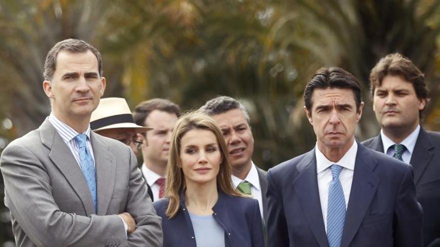 """El Príncipe destaca el Palmetum como """"ejemplo para afrontar las dificultades"""""""
