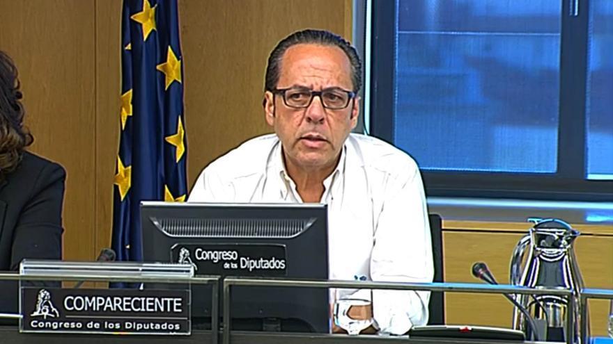 Álvaro Pérez 'El Bigotes' compareix en el Congrés dels Diputats per a parlar del finançament il·legal del PP