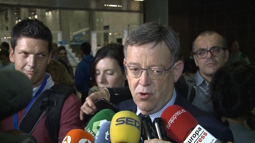 Puig sigue sin pronunciarse sobre su postura ante la abstención pero asegura que acatará lo que decida el Comité Federal
