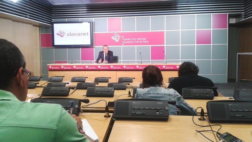 """Diputado General de Alava denuncia que los planes para """"reabrir"""" Garoña demuestran el """"ninguneo"""" de Rajoy al PP alavés"""