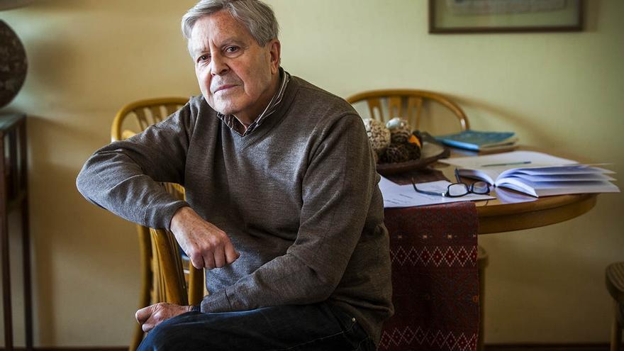 Carlos Jiménez Villarejo, exfiscal anticorrupció. / CARMEN SECANELLA