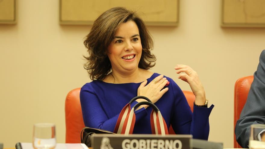 """Santamaría garantiza a Rivera """"toda la colaboración del Gobierno"""" para aplicar lo pactado aunque pide tiempo"""