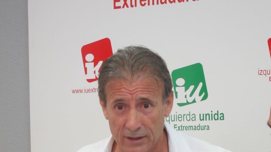 """IU de Extremadura dice que el PC ha rechazado ingresar en la formación """"sin culpables ni perdedores"""""""