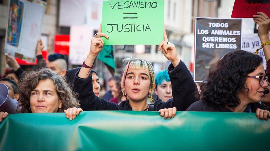 Manifestación en Madrid convocada por Noviembre Antiespecista