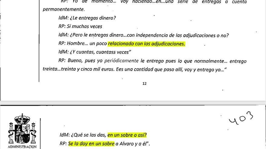 La Audiencia Nacional descubre nuevos indicios de pagos en negro al PP a cambio de adjudicaciones