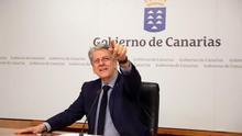 El portavoz del Ejecutivo regional, Julio Pérez.