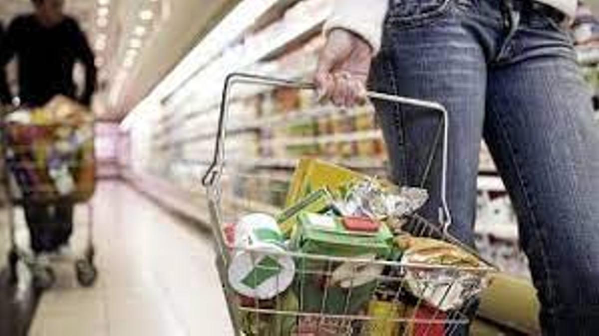 La suba de precios de alimentos impulsa la inflación.