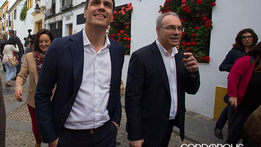 Imagen de archivo de Pedro Sánchez con Juan Pablo Durán | MADERO CUBERO